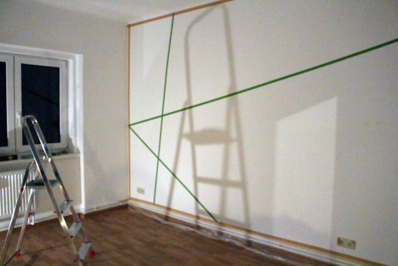 Wandgestaltung mit Frogtape