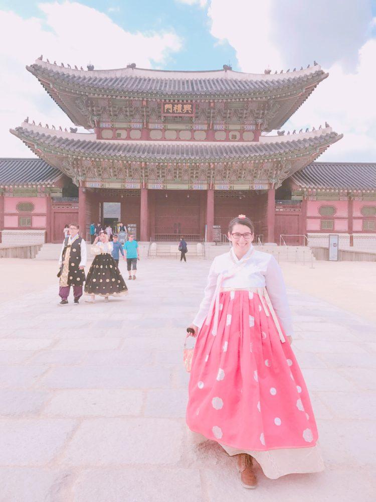 Hanbok tragen in Seoul